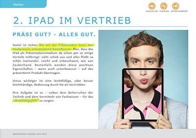 iPad im Vertrieb